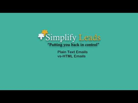 Plain Text Emails vs HTML Emails - Video 6