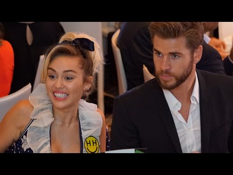 Miley Cyrus & Liam Hemsworth Cute PDA - EXCLUSIVE
