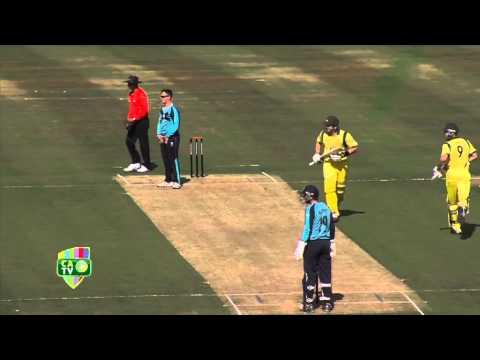Scotland v Australia ODI highlights