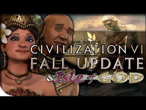 Indonesia Gameplay, Fall Update Overview, RELIGION RENOVATED | Civilization VI — Isle of God 1