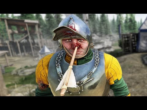 Being A Knight On The Frontlines Of Battle Is Rough - Mordhau Gameplay Part 1