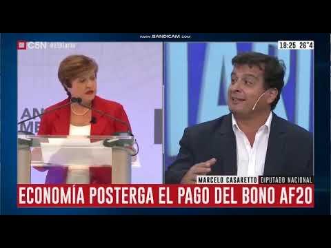 Negociación de la deuda externa, Marcelo Casaretto en el canal C5N