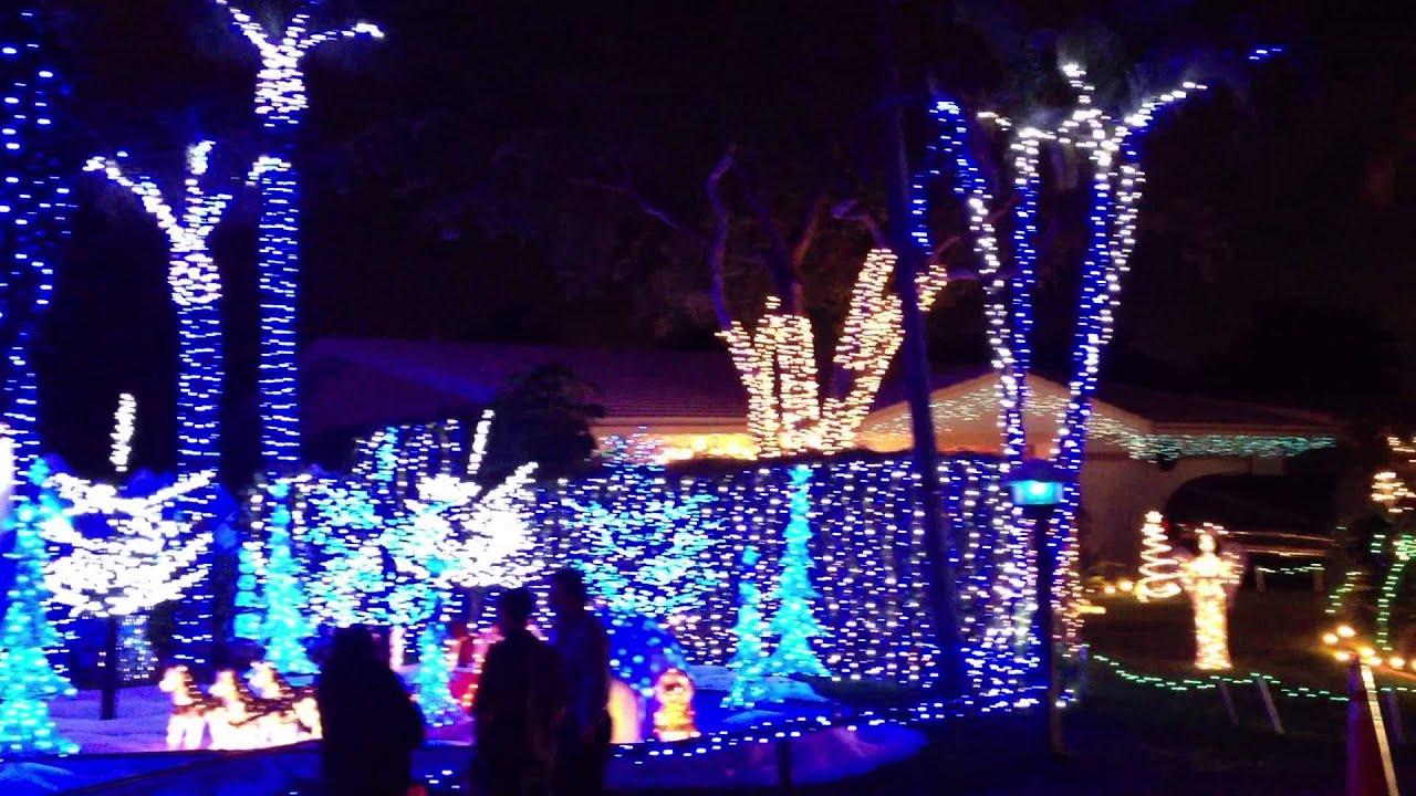 pompano beach christmas lights 2012
