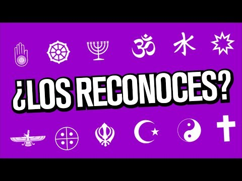 ¿Puedes reconocer estos símbolos religiosos?