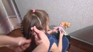 видео Причёски для девочки на длинные волосы: в садик, в школу, на праздник