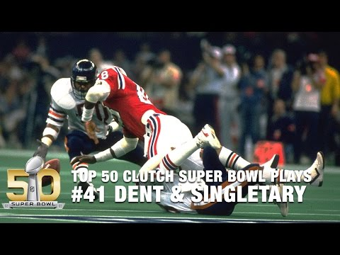 #41: Richard Dent forces fumble, Mike Singletary recovers | Top 50 Clutch Super Bowl Plays