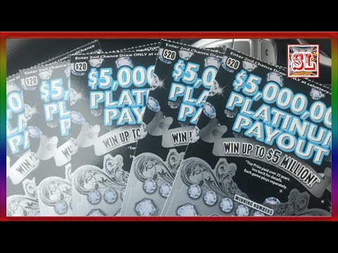 **Lunch Time Scratching Platinum Payouts  ** SL's SCRATCHERS CHANNEL **