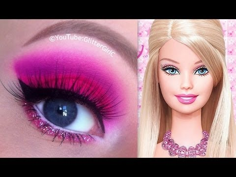 barbie makeup