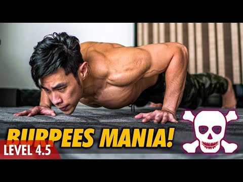 [Level 4-5] Guided Burpees Mania