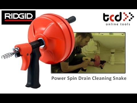 Ridgid K 45 Drain Cleaning Machine Funnydog Tv