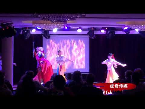 Face Off Show Of Sichuan Opera in a Cruise Ship On Yangtze River