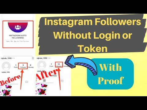 How To Increase Instagram Followers Without Login 2020 | Get 100 Followers Every Minute