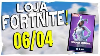 Loja Fortnite - Loja De Hoje 06/04/2019 Novo Gesto