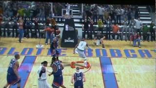 NBA 2K10 360DUNK