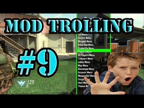 """Black ops 2 Mod Trolling #9 """"New Mod Menu"""""""