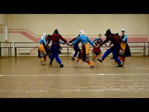 «Амшен», попурри танцев причерноморских армян. Ансамбль армянского танца и песни «Амшен».