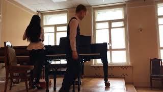 Открытый урок по фортепиано 19 марта 2018 г.