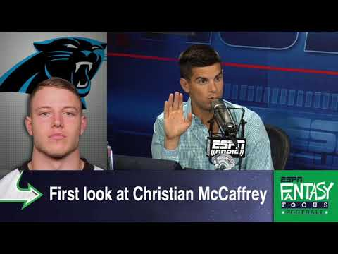 Where Is Christian McCaffrey's Fantasy Stock After 1 Preseason Game?   Fantasy Focus   ESPN