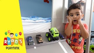 Racing cars chase -  LIGHTNING MCQUEEN, TOW MATER, and many more