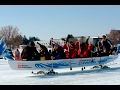 Kuttanadan Punchayile Song With Canadian Dragon Boat Race On Ice In Ottawa.