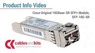 What you need to know about the  Cisco Original SFP-10G-SR