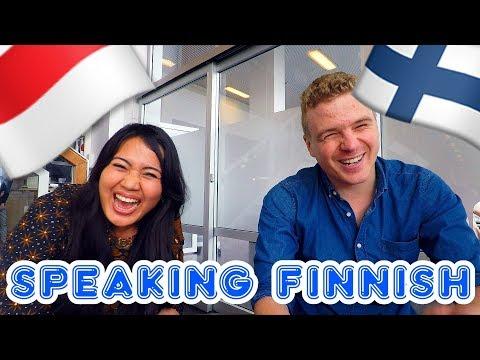 Indonesian Speaking GREAT Finnish - Finnish Language Conversation with Annisa