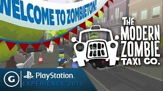 The Modern Zombie Taxi Co. Announcement Trailer - PSX 2015