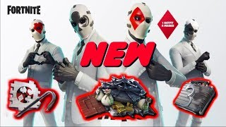 NEW WILD CARD SKIN, SUITCASE BACKBLING, SAFE GLIDER AND CROWBAR PICKAXE IN FORTNITE
