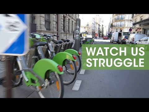 How To Use Velib Bike In Paris - We Struggled