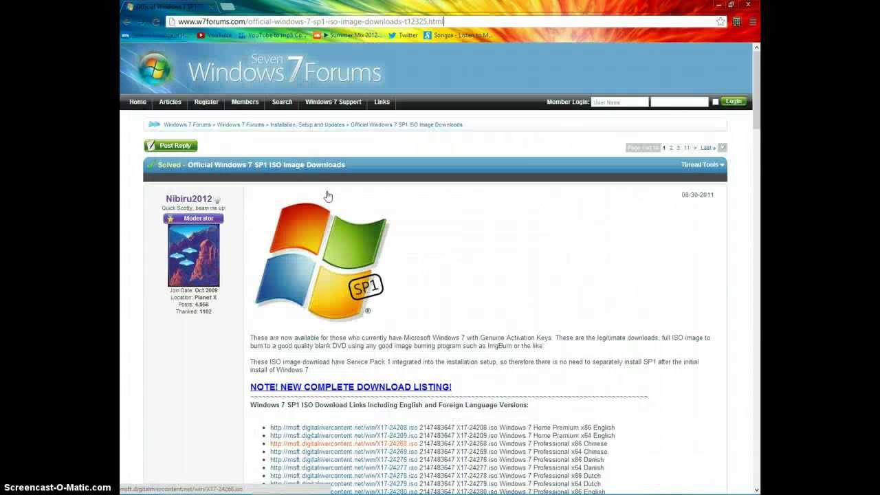 windows 7 iso free trial