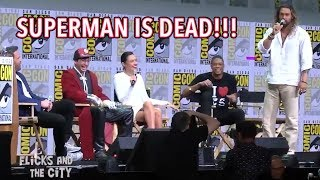 Jason Momoa To Kid: SUPERMAN IS DEAD!!!