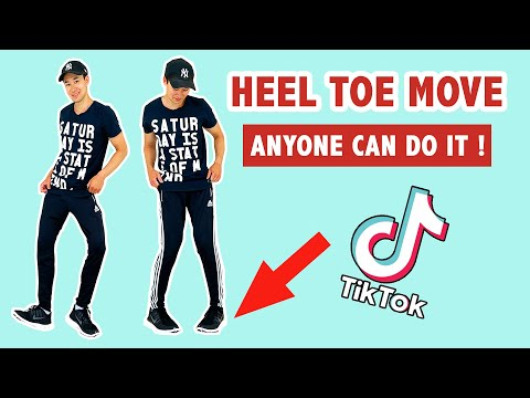 How To Do The Feet Thing (Heel Toe Move) | Popular Tik Tok Dance Move