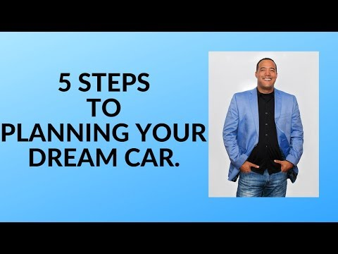 PLANNING YOUR DREAM CAR