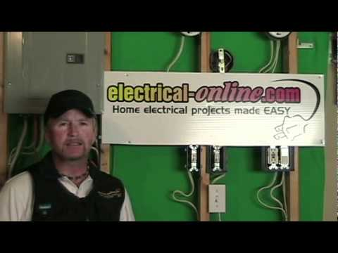 Adding a receptacle to an existing circuit youtube for How to wire a new room addition