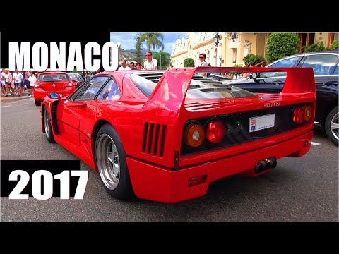 Monaco Supercar Spotting 2017