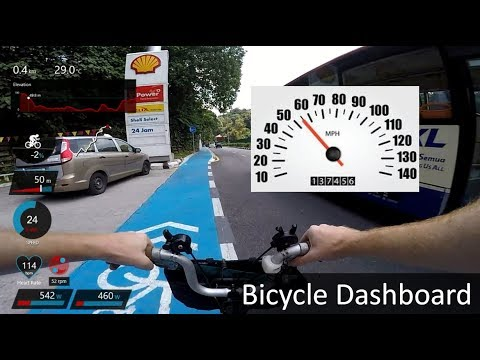 Brompton With DASHBOARD (Power, Heart Rate, Speed Etc)