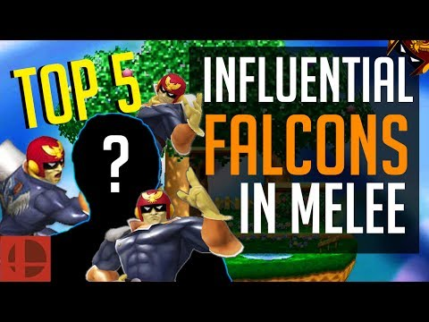 Melee Top 5 - Most Influential Captain Falcon Mains Of All Time | SSBM