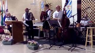 Leyderhosen ~ BIG FUN German Music in Grandview, Missouri on September 16, 2017.