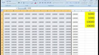 Repeat youtube video How to Add The  Thousand Comma Separators In Numbers on Excel Cell Worksheet