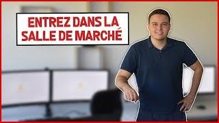 PREMIER TOUR DANS LA SALLE DE MARCHÉ ICT !