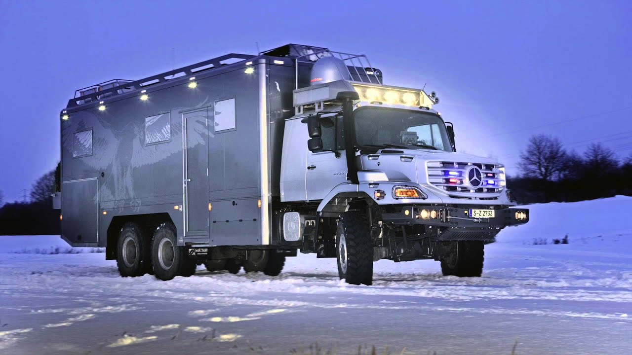 Mercedes Benz Zetros 6x6 Off Road Expedition Motorhome