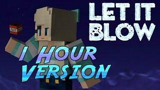"""Let it Blow"" 1h Version - a Minecraft Version of Frozen"