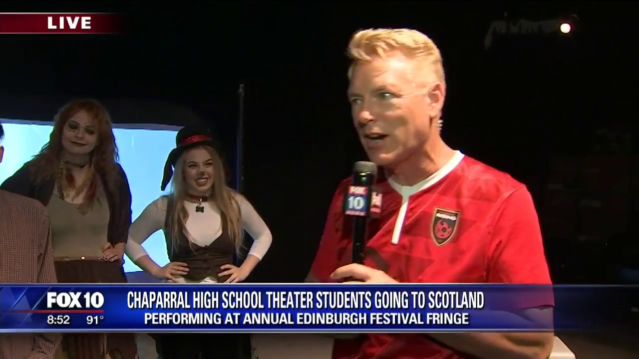 Cory's Corner: Chaparral High School theatre students head to Scotland