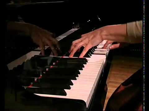 philip glass glassworks - live on grand piano