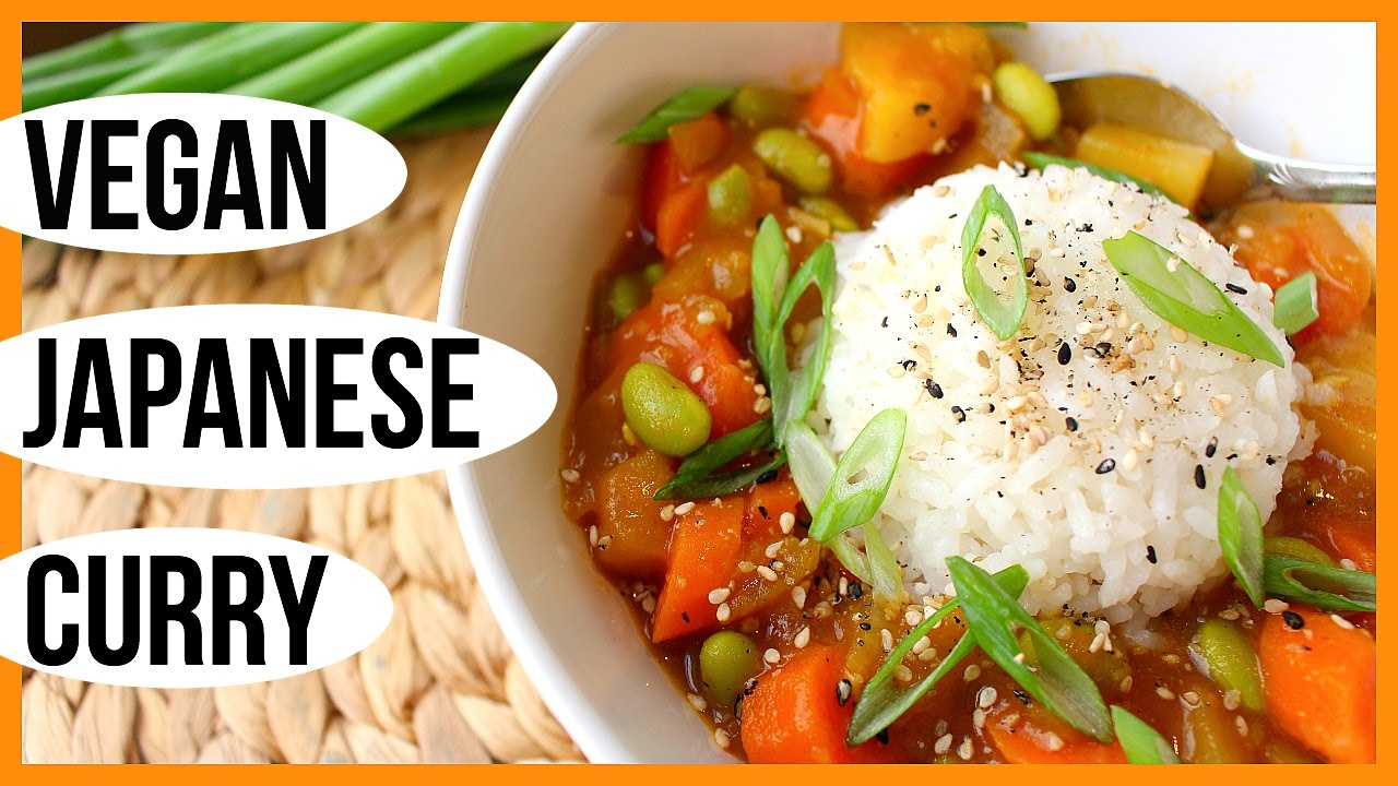 Vegan Japanese Curry Oil Free Healthy Easy Youtube