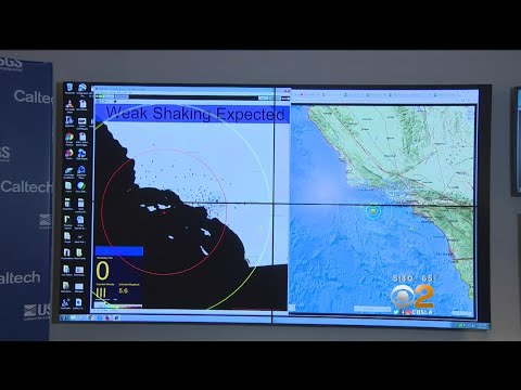Caltech's Early Warning System Set Off By 5.3 Earthquake Off Coast Of Ventura
