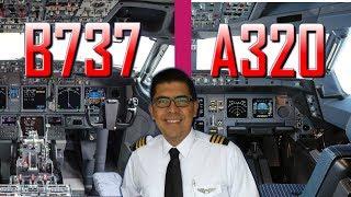 ¡DIFERENCIAS ENTRE AIRBUS 320 Y BOEING 737! (#119)