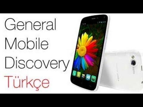 General Mobile Discovery Kutu Açılımı TÜRKÇE