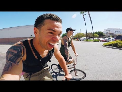 RIDING ILLEGALLY THROUGH A MALL WITH RYAN TAYLOR *FOOTAGE*