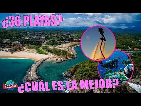 Lo MEJOR de HUATULCO OAXACA / 9 Bahías ¿Qué hacer?